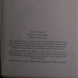 antikvární kniha Vojenské povídky, 1952
