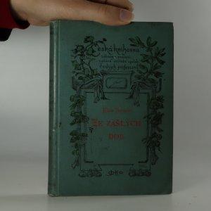 náhled knihy - Ze zašlých dob