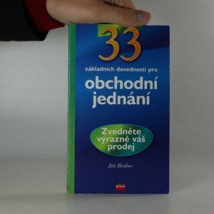 náhled knihy - 33 základních dovedností pro obchodní jednání