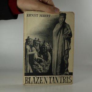 náhled knihy - Blázen Tantris. (Kniha je cítit zatuchlinou).