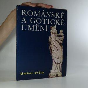 náhled knihy - Románské a gotické umění (je cítit zatuchlinou)