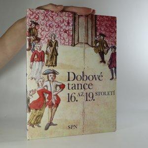 náhled knihy - Dobové tance 16. až 19. století (je cítit zatuchlinou)