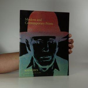 náhled knihy - Modern and Contemporary Prints (je cítit zatuchlinou)