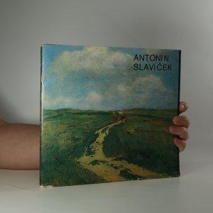 náhled knihy - Antonín Slavíček (je cítit zatuchlinou)