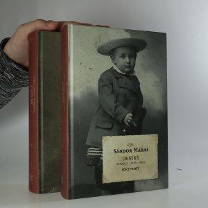 náhled knihy - Deníky 1943-1989 (2 svazky) (je cítit zatuchlinou)