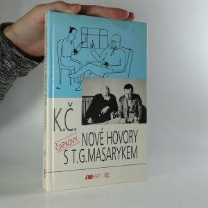 náhled knihy - Nové hovory s T.G. Masarykem (je cítit zatuchlinou)