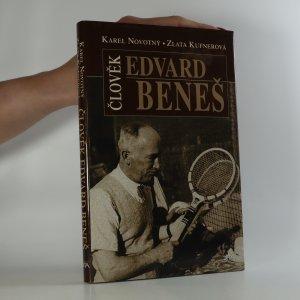 náhled knihy - Člověk Edvard Beneš. Čtení o druhém prezidentovi (je cítit zatuchlinou)