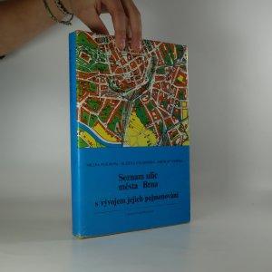 náhled knihy - Seznam ulic města Brna s vývojem jejich pojmenování (je cítit zatuchlinou)