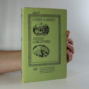 náhled knihy - Chyby a omyly