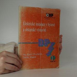 náhled knihy - Elektrické instalace v bytové a občanské výstavbě