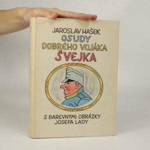 náhled knihy - Osudy dobrého vojáka Švejka (je cítit zatuchlinou)