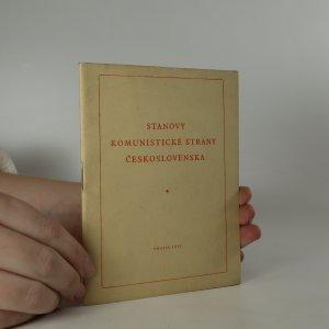 náhled knihy - Stanovy Komunistické strany Československa
