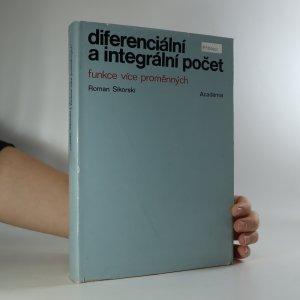 náhled knihy - Diferenciální a integrální počet. Funkce více proměnných
