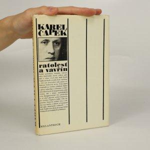 náhled knihy - Ratolest a vavřín (je cítit zatuchlinou)
