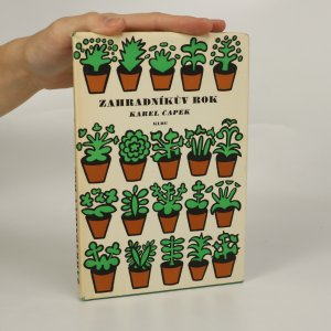náhled knihy - Zahradníkův rok (je cítit zatuchlinou)