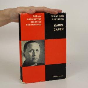 náhled knihy - Karel Čapek (je cítit zatuchlinou)