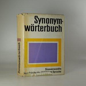 náhled knihy - Synonym - Wörterbuch. Sinnverwandate Ausdrücke der deutschen Sprache.