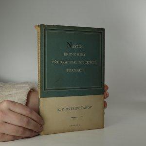 náhled knihy - Nástin ekonomiky předkapitalistických formací