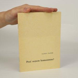 náhled knihy - Proč nejsem komunistou? (je cítit zatuchlinou)