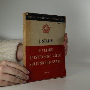 náhled knihy - O veliké vlastenecké válce Sovětského Svazu