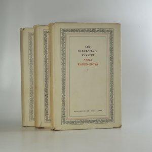 náhled knihy - Anna Kareninová 1.-3. díl (3 svazky)