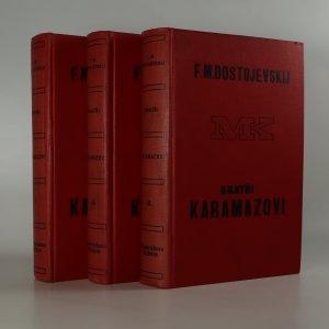 náhled knihy - Bratři Karamazovi. 1. - 3. díl. (3 svazky, nekompletní)