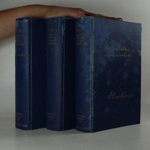 náhled knihy - Světová válka a naše revoluce. 1. - 3. díl. (3 svazky)