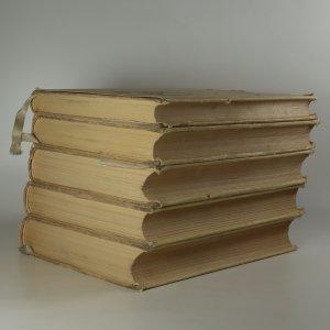 antikvární kniha F. L. Věk. Obraz z dob našeho národního probuzení. 1. - 5. díl. (5 svazků, komplet), 1953