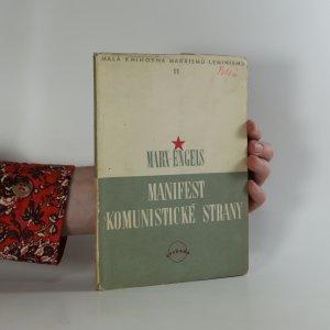 náhled knihy - Manifest komunistické strany