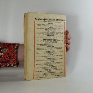 antikvární kniha Masopust, 1938