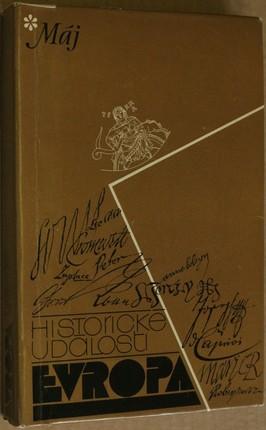 náhled knihy - Evropa : Historické události : Datová příručka