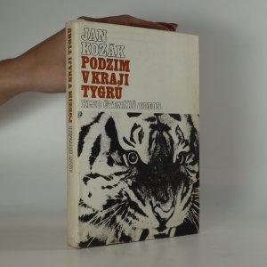 náhled knihy - Podzim v kraji tygrů