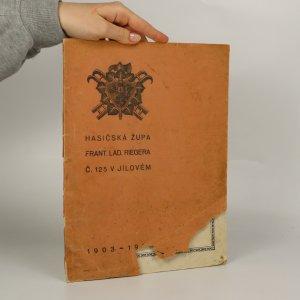 náhled knihy - Hasičská župa Frant. Lad. Riegera č. 125 v Jílovém