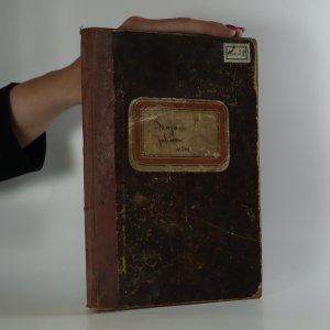 náhled knihy - Sešit ručně psaných písní z roku 1901