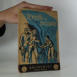 náhled knihy - Rytíři z Modré