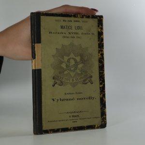 náhled knihy - Vybrané novelly I. Matice lidu. Ročník XVIII. číslo 2