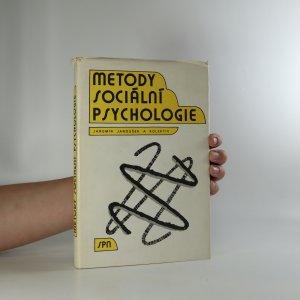 náhled knihy - Metody sociální psychologie