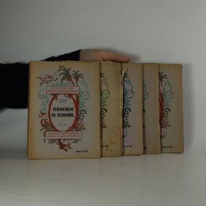 náhled knihy - 5x Laciné vydání spisů Jack Londona (viz poznámka)