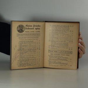 antikvární kniha Sebrané spisy Aloise Jiráska. Z mých pamětí. Sv. 37, 1911