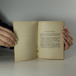 antikvární kniha Hasičský služební řád, 1937