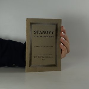 náhled knihy - Stanovy hasičského sboru v Senohrabech