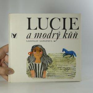 náhled knihy - Lucie a modrý kůň