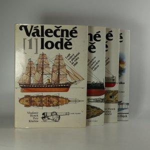 náhled knihy - Válečné lodě. Díl 1.-4. (4 svazky)