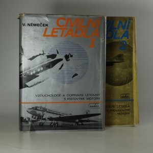 náhled knihy - Civilní letadla. 1.-2. díl (2 svazky. komplet)