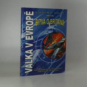 náhled knihy - Válka v Evropě. 3. díl. Bitva o Británii.