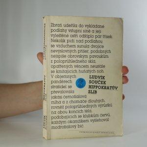 náhled knihy - Hippokratův slib