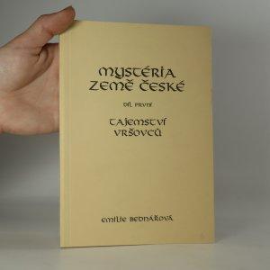 náhled knihy - Mystéria země české. Díl I., Tajemství Vršovců