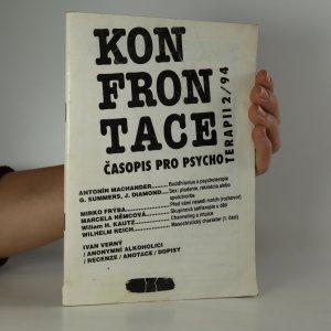 náhled knihy - Konfrontace. Časopis pro psychoterapii. Ročník V., číslo 2.