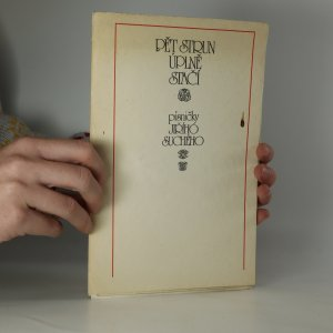 náhled knihy - Pět strun úplně stačí. Písničky Jiřího Suchého