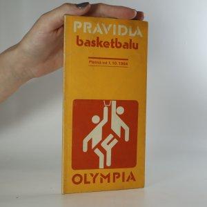 náhled knihy - Pravidla basketbalu. Platná od 1. 10. 1984